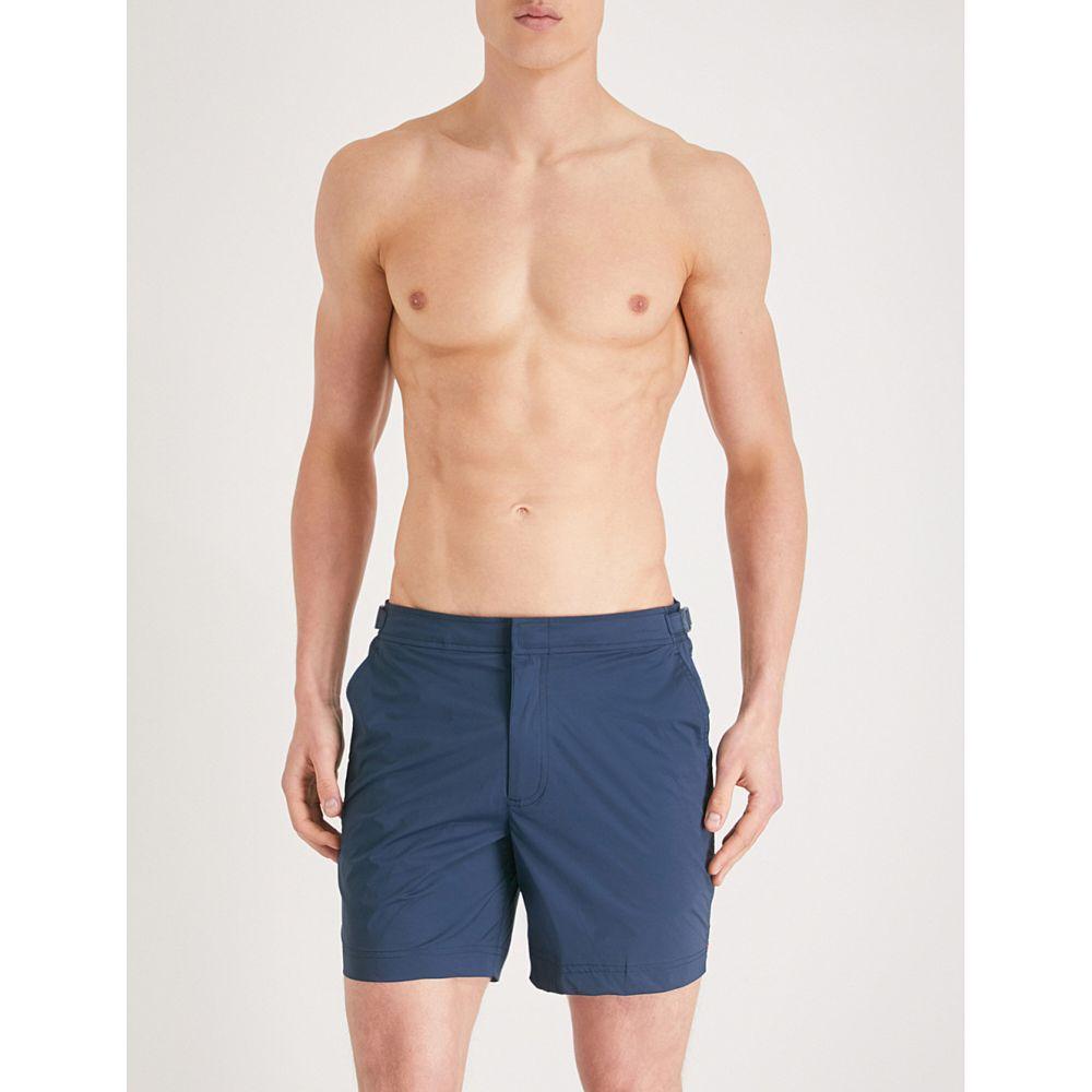 オールバー ブラウン orlebar brown メンズ 水着・ビーチウェア 海パン【bulldog regular-fit swim shorts】Navy