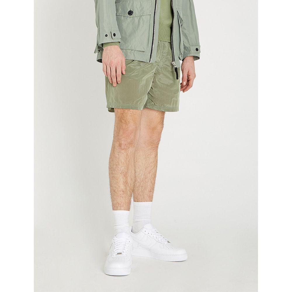 ストーンアイランド stone island メンズ 水着・ビーチウェア 海パン【drawstring-waist shell swim shorts】Salvia/pale green