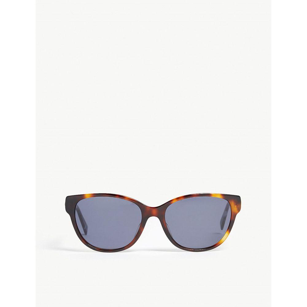 マックスマーラ max mara レディース メガネ・サングラス【leisure square-frame sunglasses】Tawny bronze brown