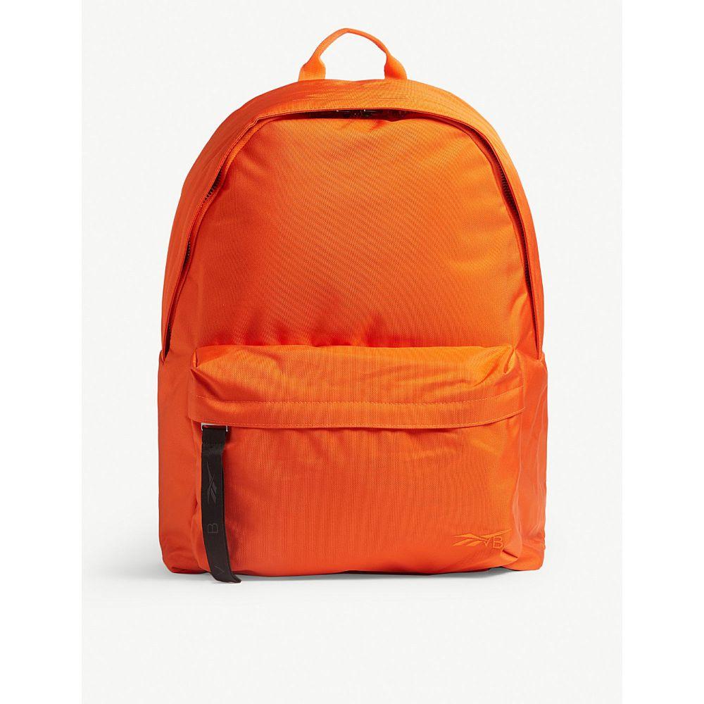 リーボック reebok x victoria beckham レディース バッグ バックパック・リュック【nylon backpack】Swag orange