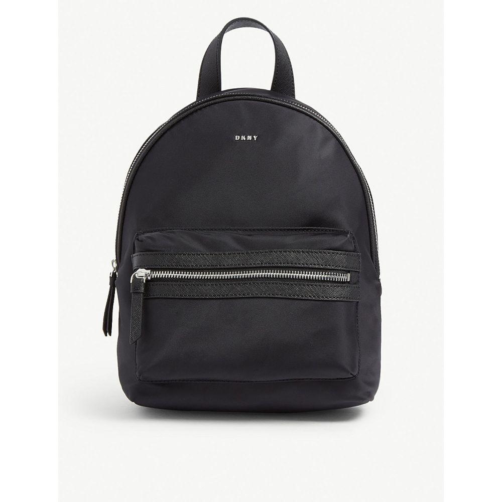 ダナ キャラン ニューヨーク dkny レディース バッグ バックパック・リュック【casey nylon backpack】Black/silver
