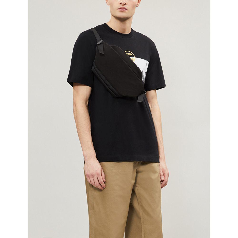 オーエーエムシー oamc メンズ トップス Tシャツ【overload cotton-jersey t-shirt】Black
