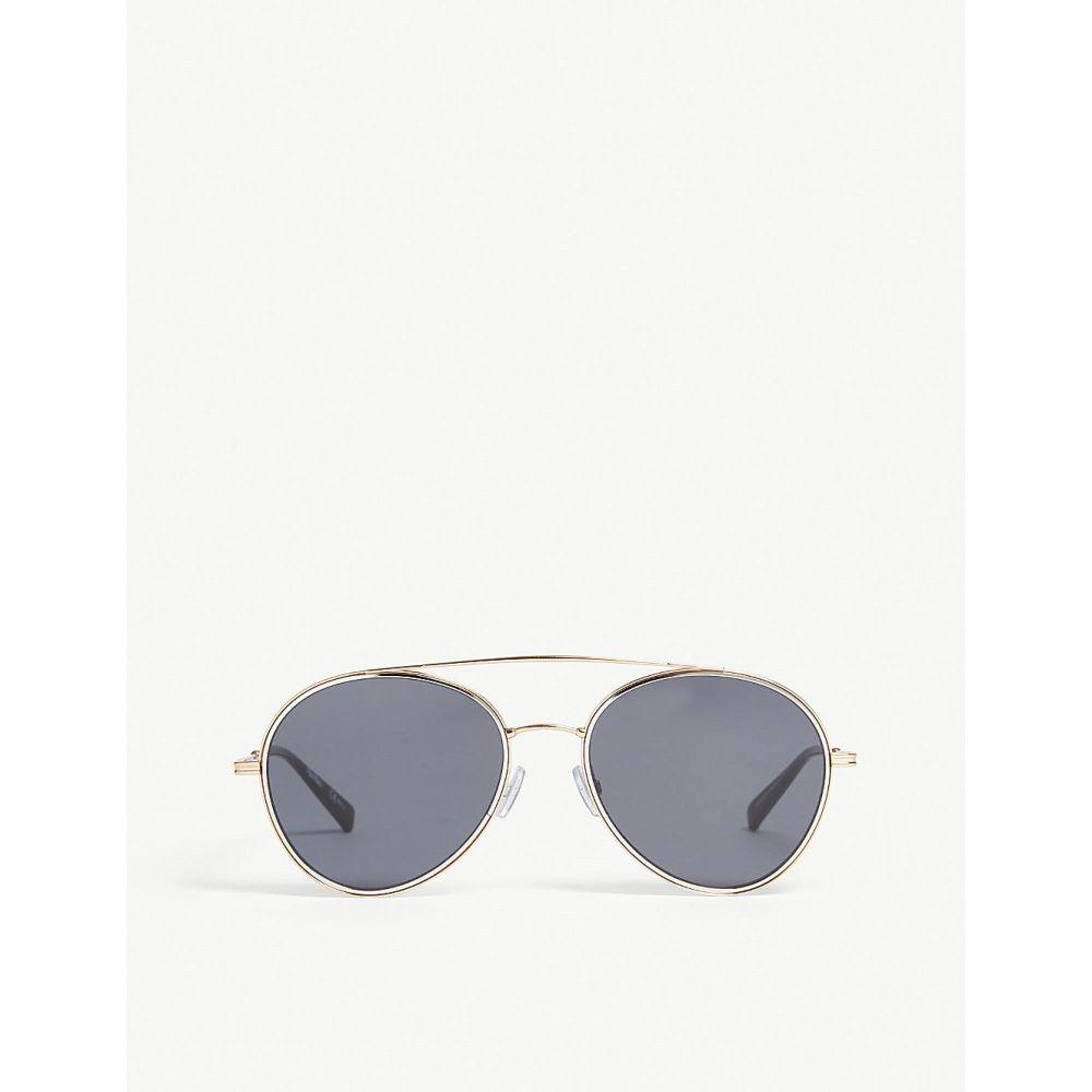 マックスマーラ max mara レディース メガネ・サングラス【wire 2 aviator sunglasses】Black