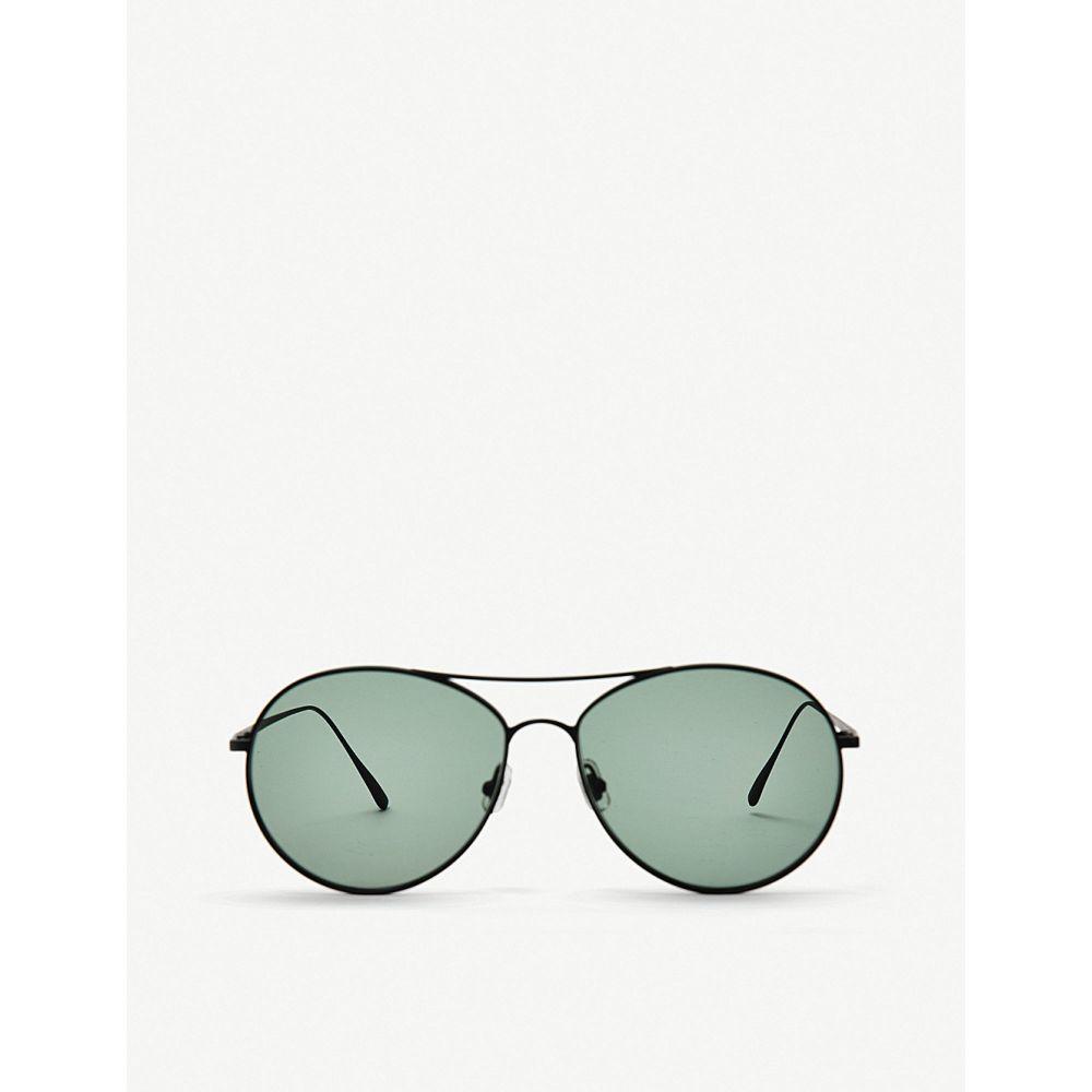 ジェントルモンスター gentle monster レディース メガネ・サングラス【ranny ring monel and titanium sunglasses】Black