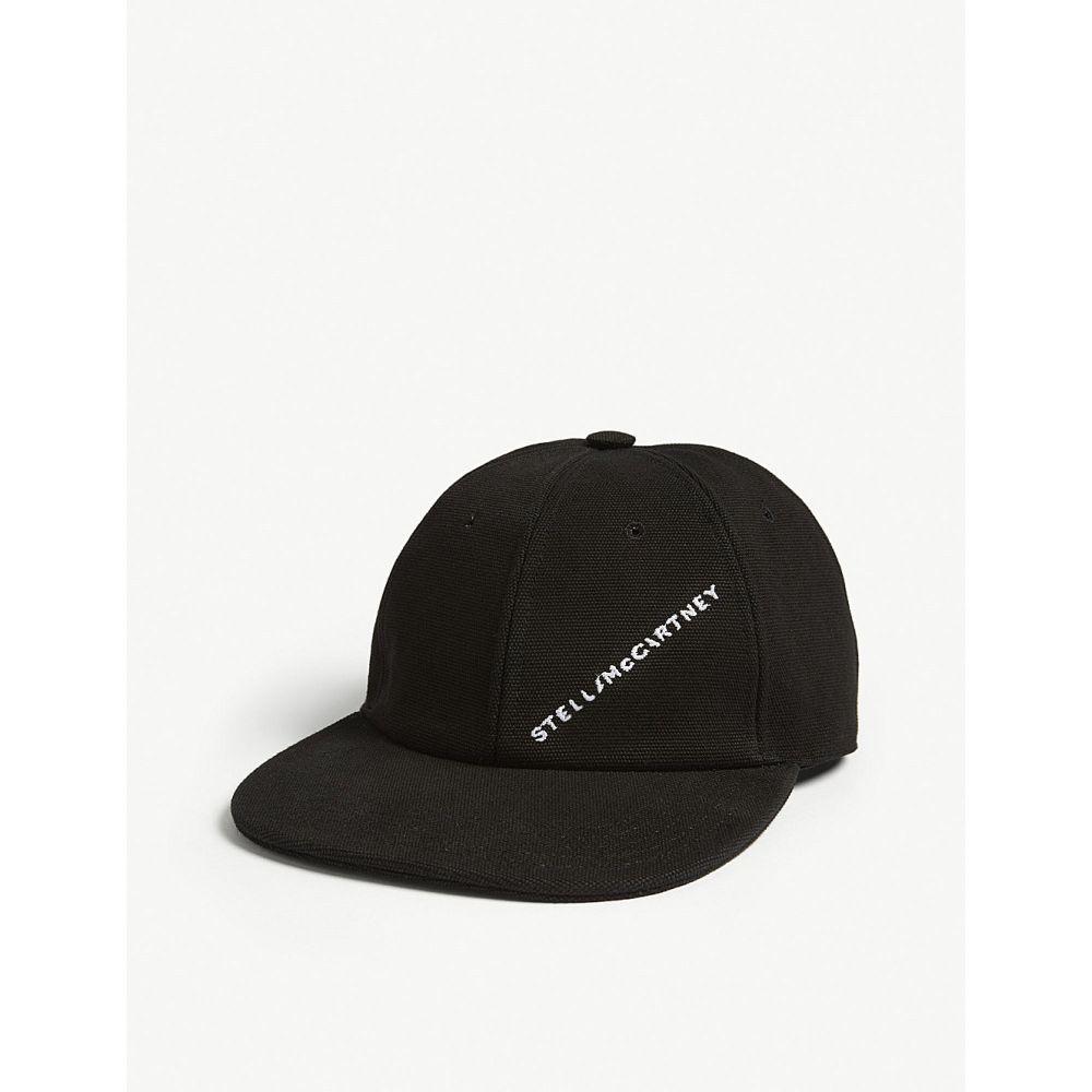 ステラ マッカートニー stella mccartney レディース 帽子 キャップ【logo baseball cap】Black