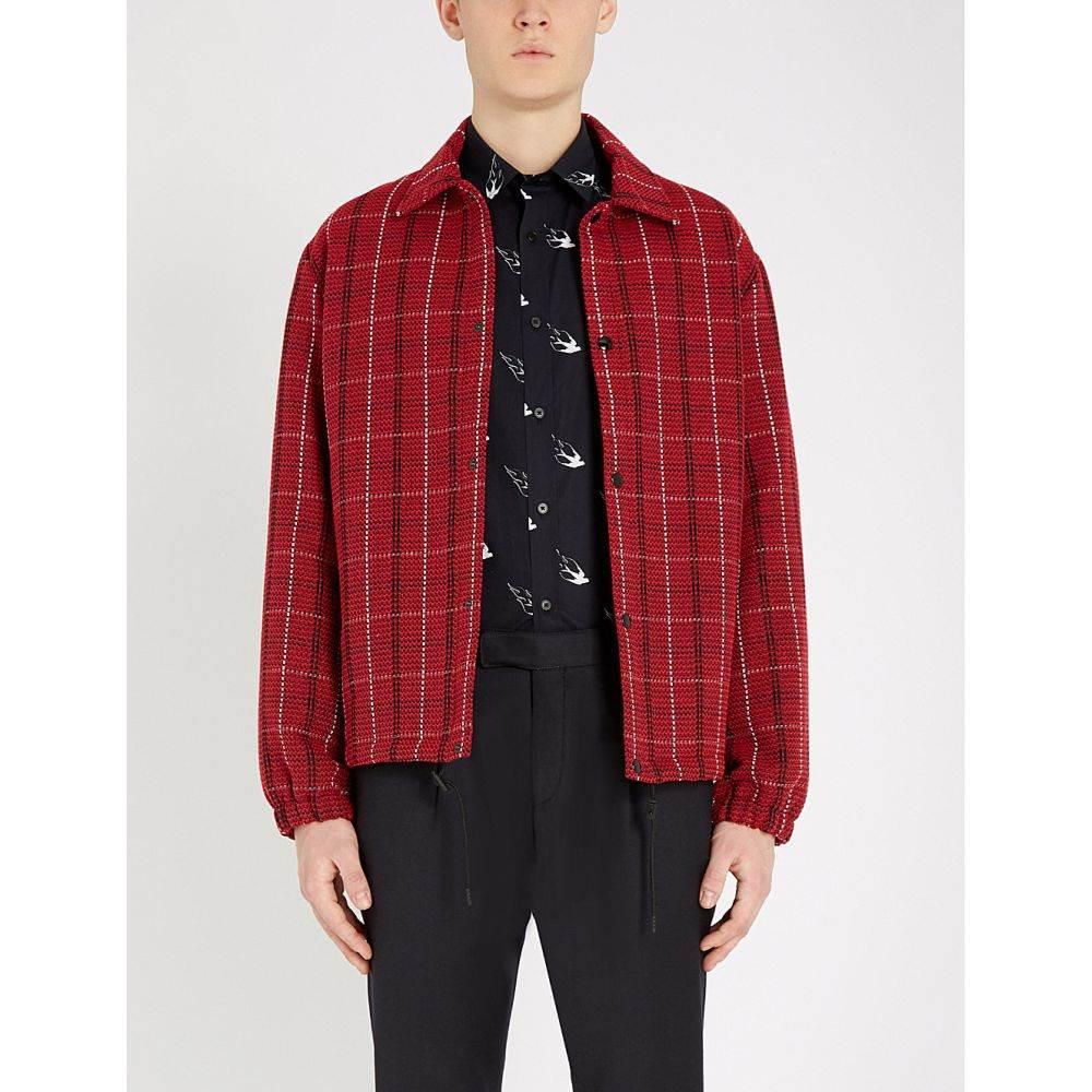 アレキサンダー マックイーン mcq alexander mcqueen メンズ トップス シャツ【swallow-print regular-fit cotton shirt】Darkest black
