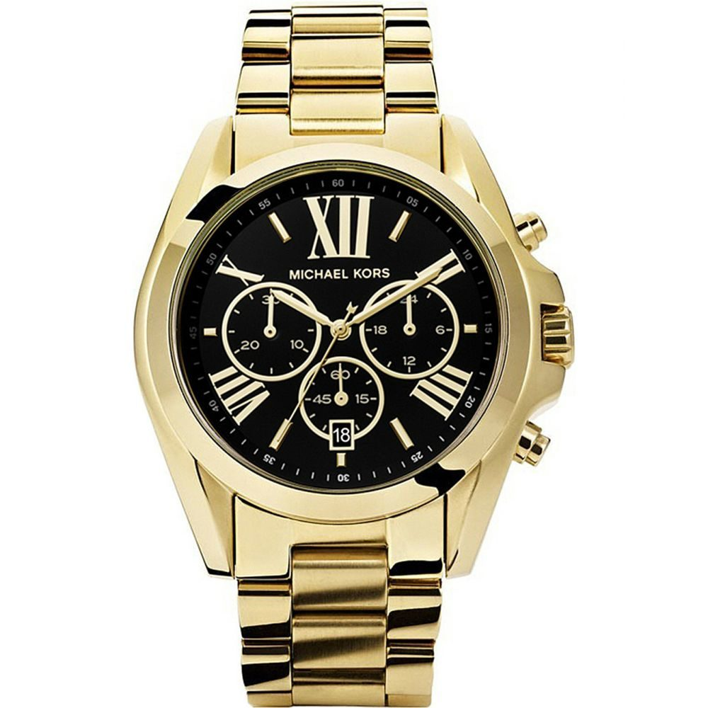 マイケル コース michael kors レディース 腕時計【mk5739 bradshaw gold-plated watch】Gold