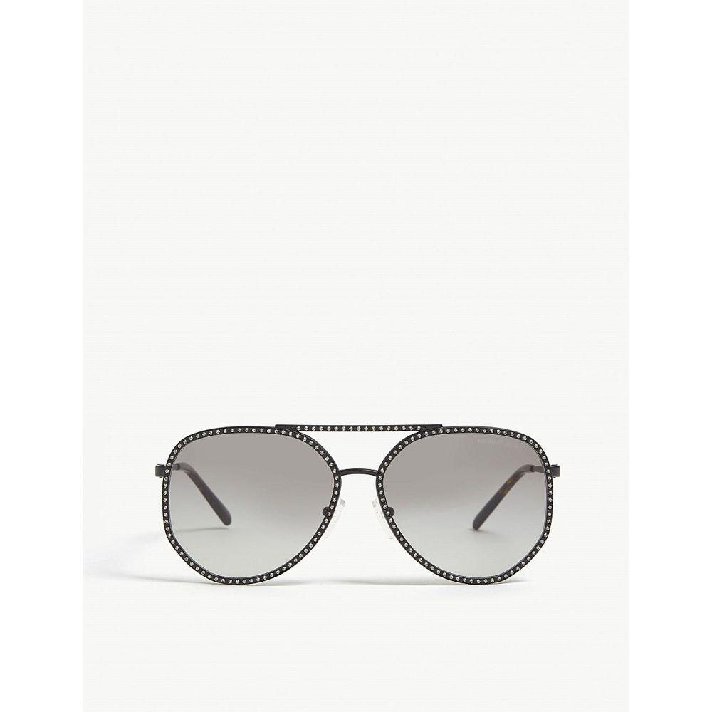 マイケル コース michael kors メンズ メガネ・サングラス【mk1039b miami pilot-frame sunglasses】Matte black