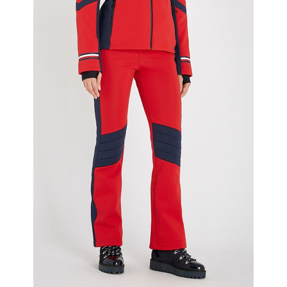 トミー ヒルフィガー tommy hilfiger レディース スキー・スノーボード ボトムス・パンツ【x rossignol stretch-shell ski trousers】apple red/sky cap
