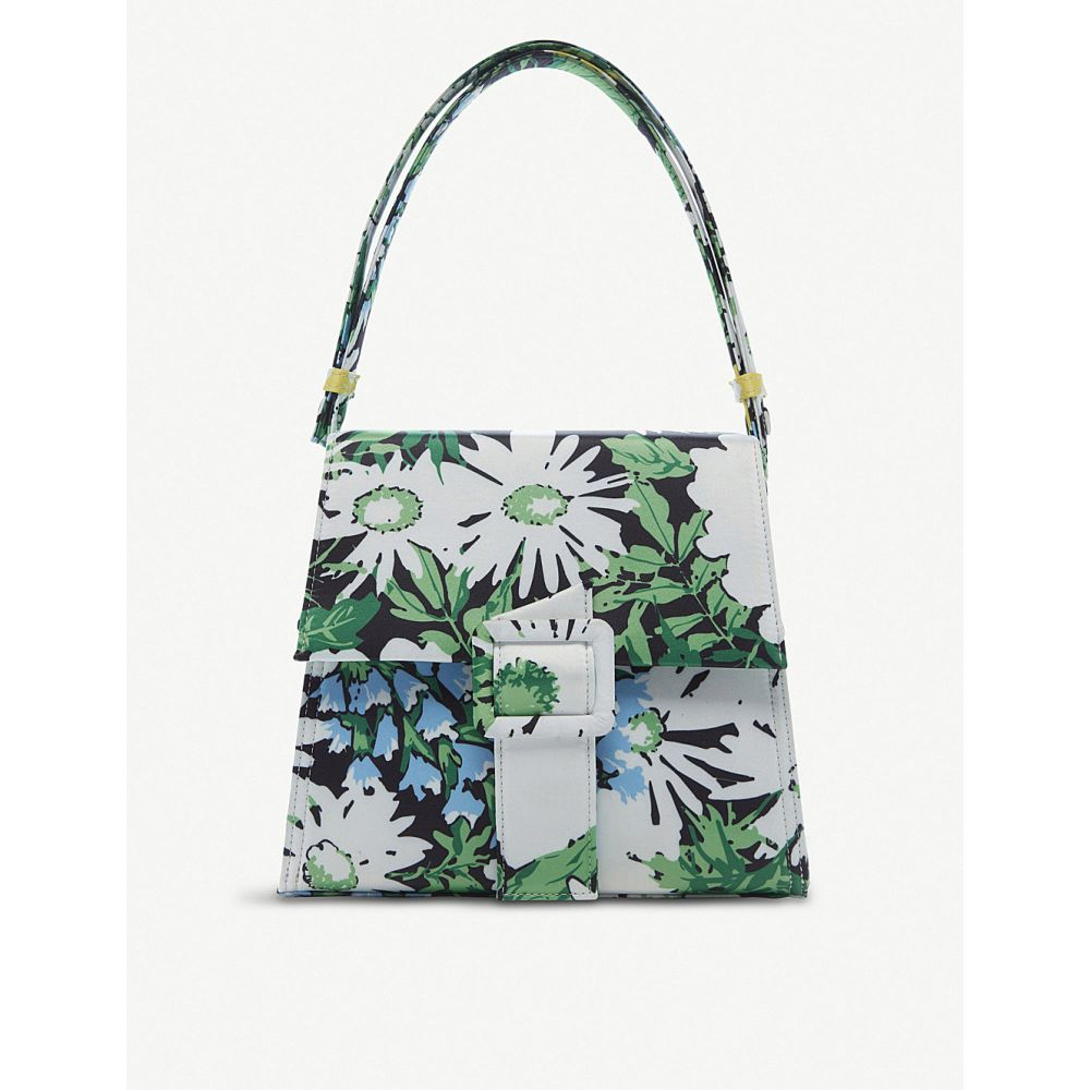 リキソ rixo レディース バッグ ショルダーバッグ【frankie floral-print satin shoulder bag】Retro floral