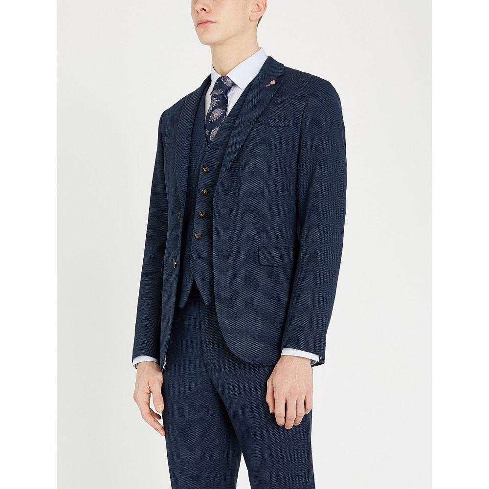 テッドベーカー ted baker メンズ アウター スーツ・ジャケット【gorka slim-fit woven blazer】Navy