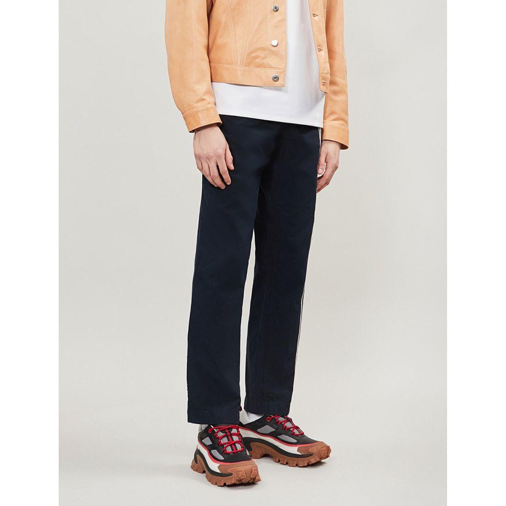 アクネ ストゥディオズ acne studios acne メンズ ボトムス・パンツ アクネ【paco stretch-cotton メンズ trousers】Navy pink, 【スーパーセール】:e690f846 --- sunward.msk.ru