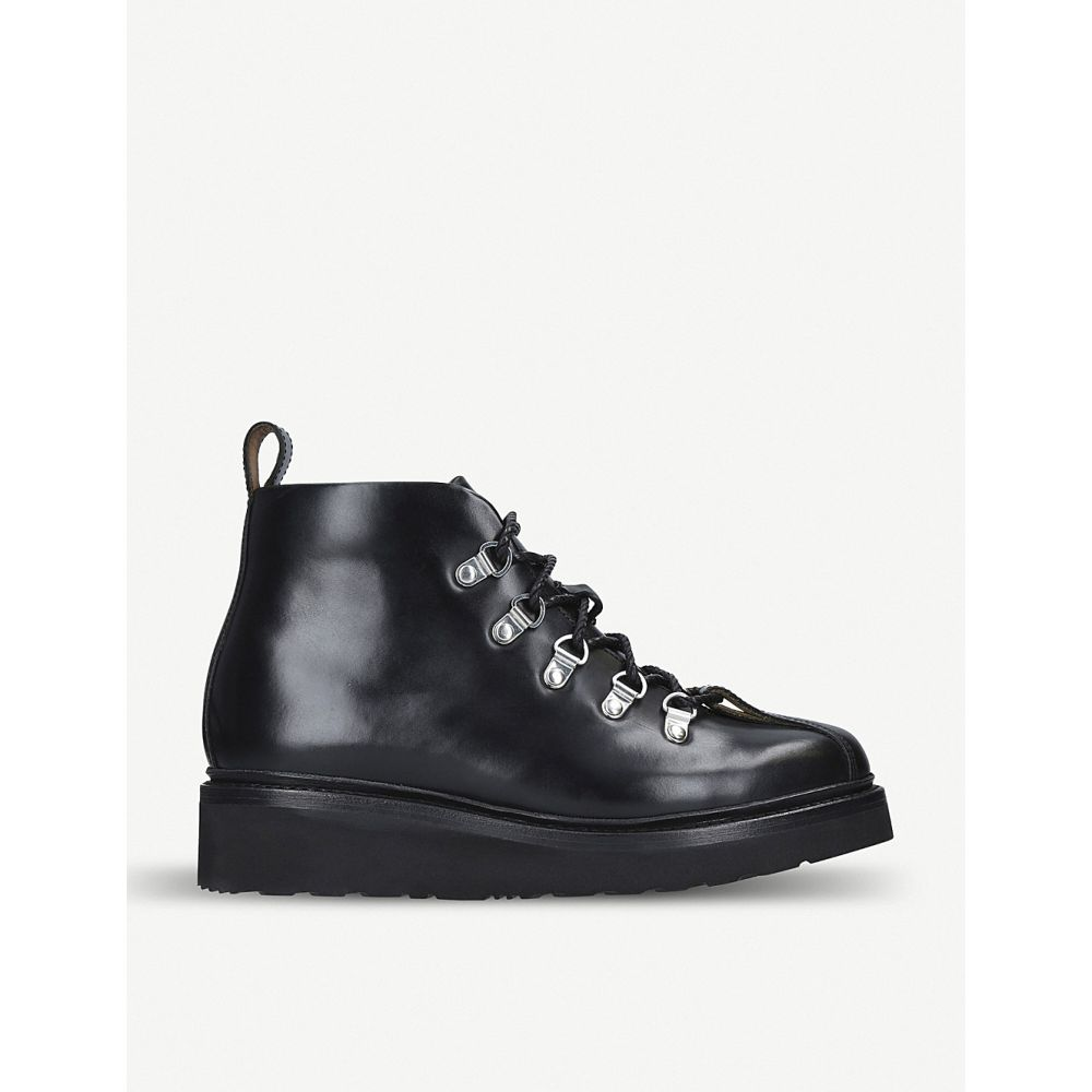 グレンソン grenson レディース ハイキング・登山 シューズ・靴【bridget leather hiking boots】Black