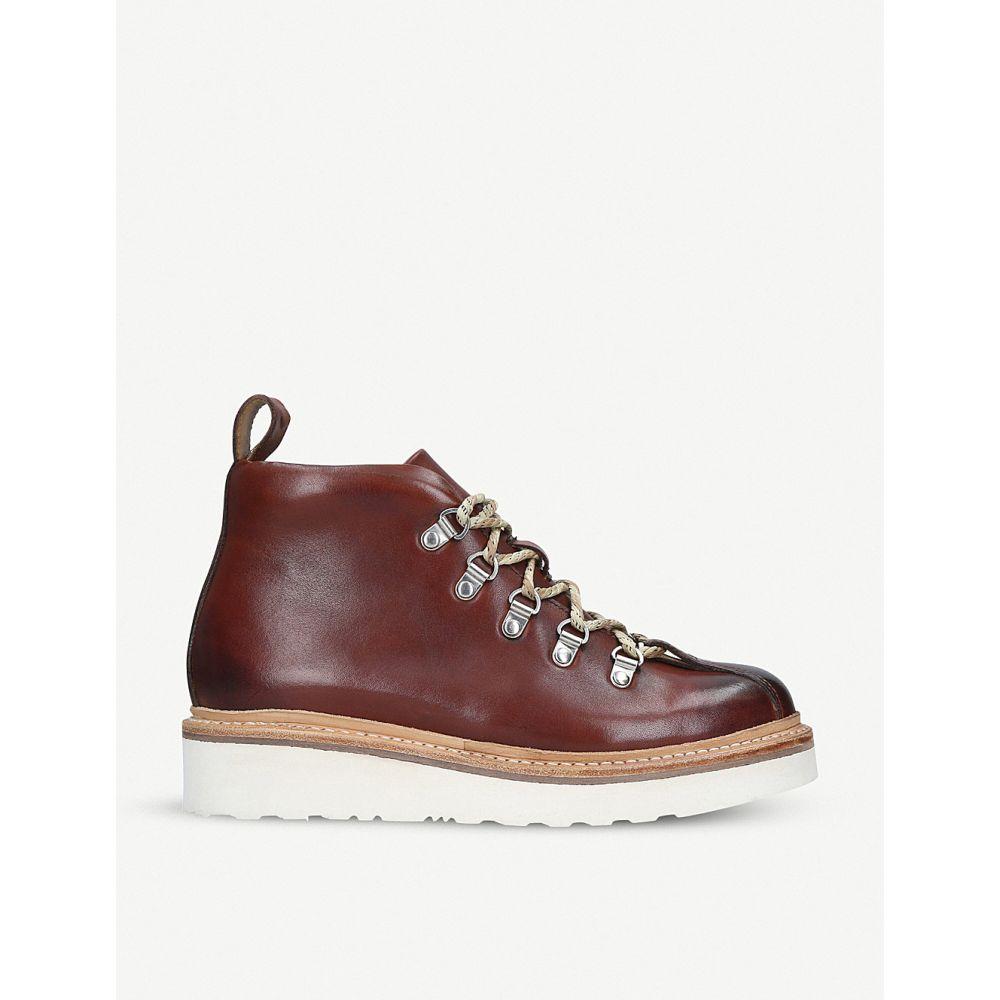 グレンソン grenson レディース ハイキング・登山 シューズ・靴【bridget leather hiking boots】Tan