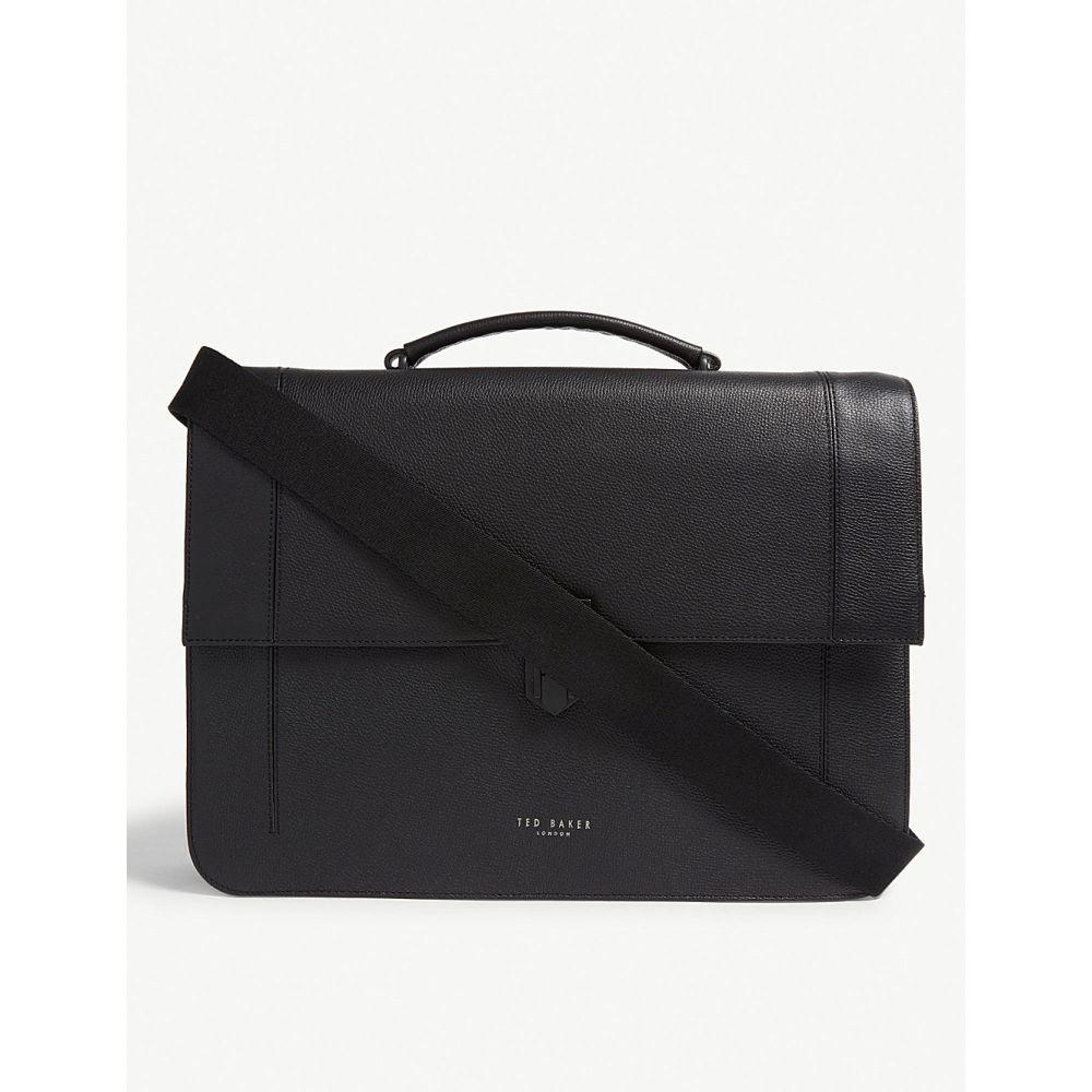 テッドベーカー ted baker メンズ バッグ メッセンジャーバッグ【aggro leather satchel bag】Black
