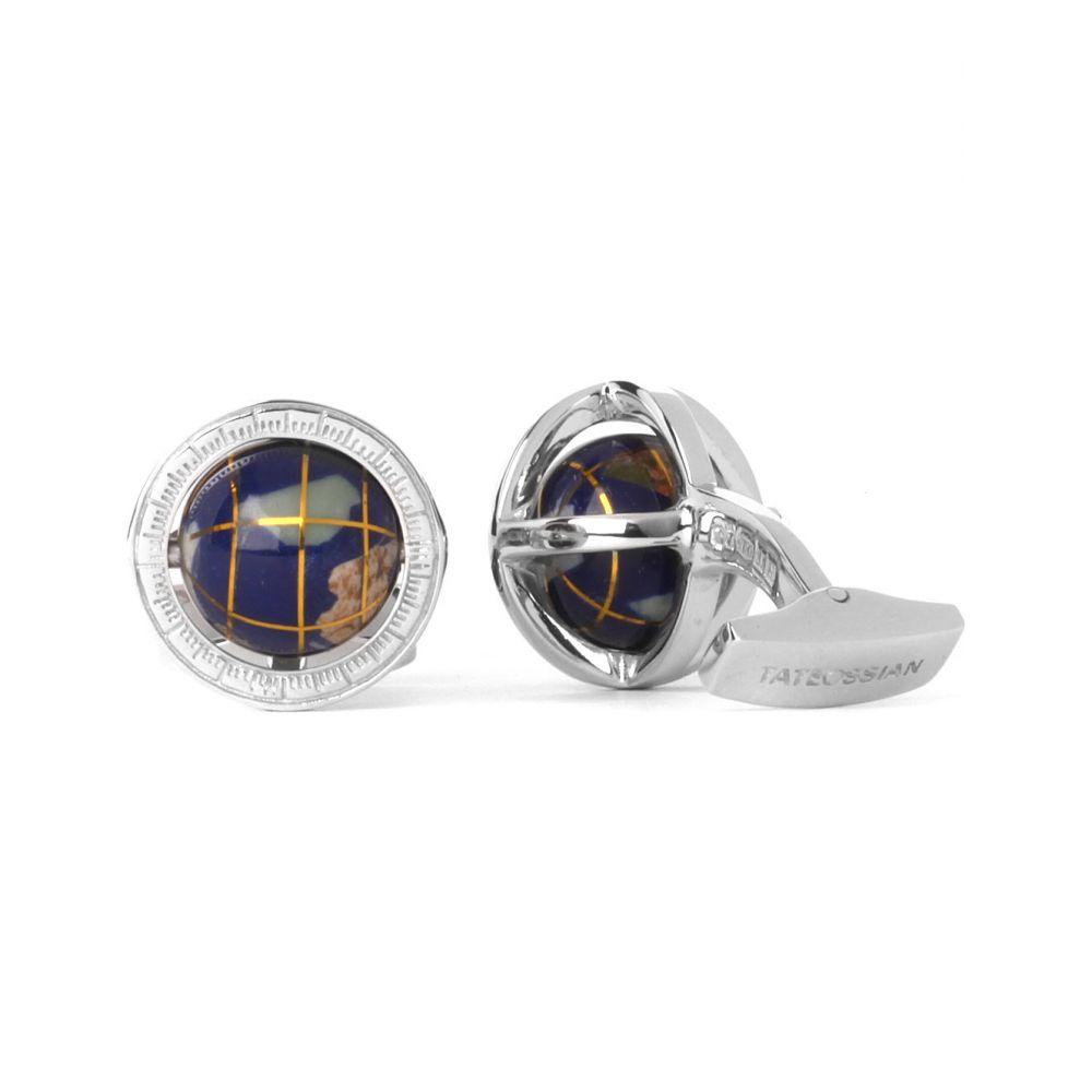 タテオシアン tateossian メンズ カフス・カフリンクス【globe cufflinks】Multi