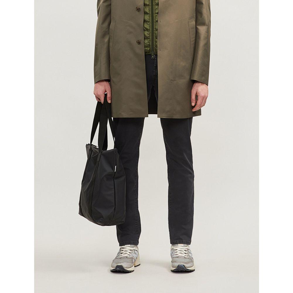 コルネリアーニ corneliani メンズ ボトムス・パンツ ジーンズ・デニム【logo-embroidered regular-fit straight jeans】Black