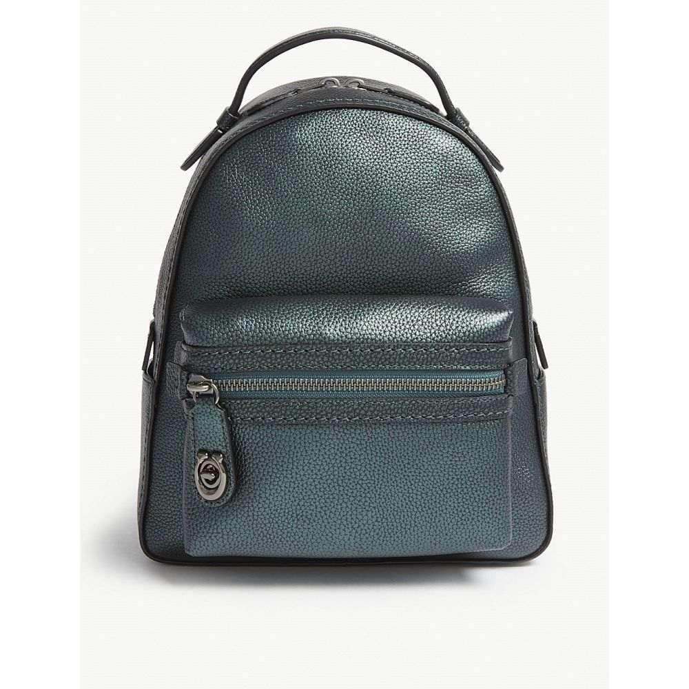 コーチ coach レディース バッグ バックパック・リュック【campus leather small backpack】Gm/metallic ivy