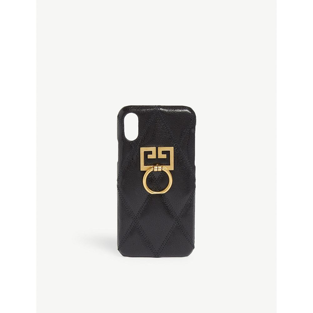 ジバンシー givenchy レディース iPhone (X)ケース【gg logo iphone x/xs case】Black