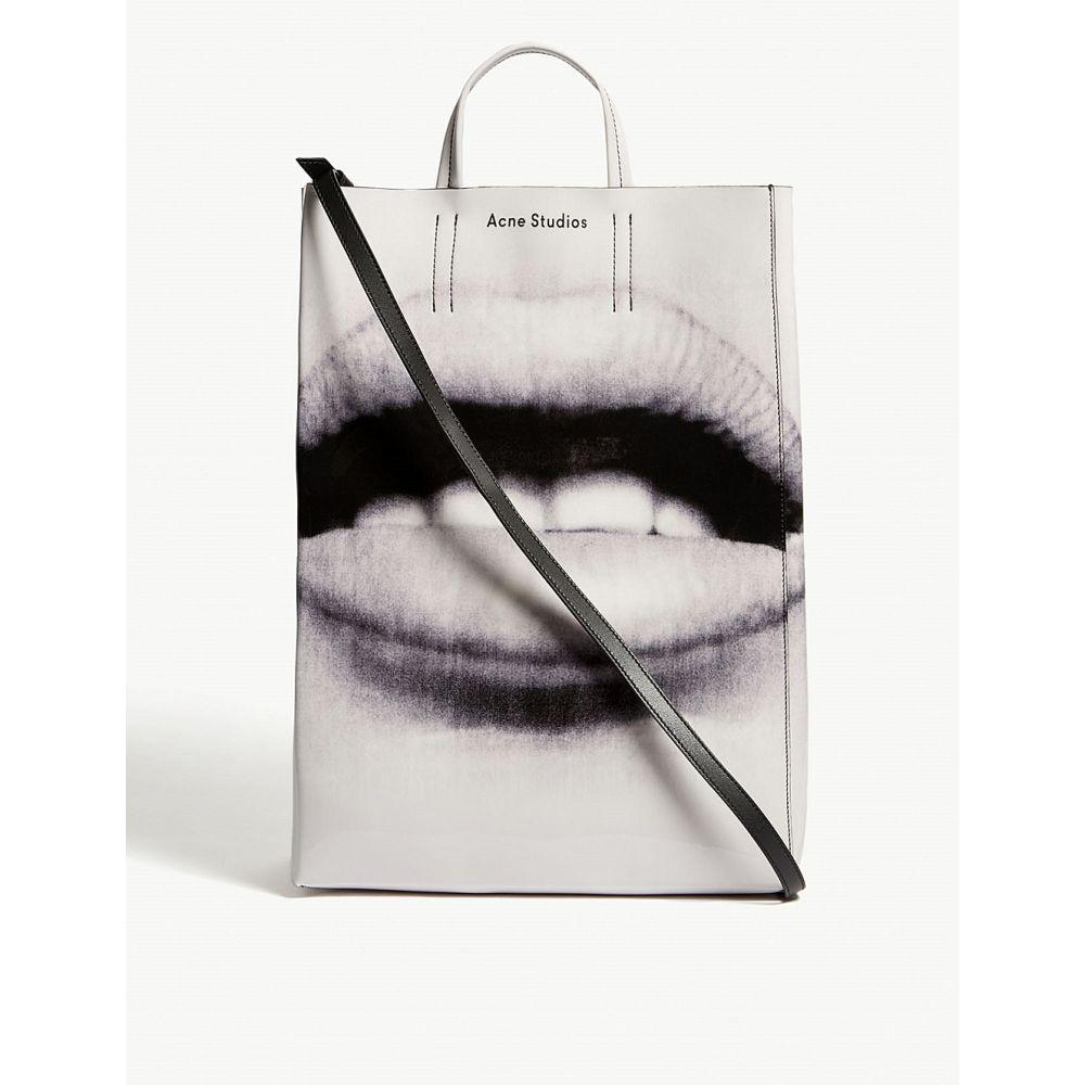 アクネ ストゥディオズ acne studios メンズ バッグ トートバッグ【baker lips tote bag】Black/white