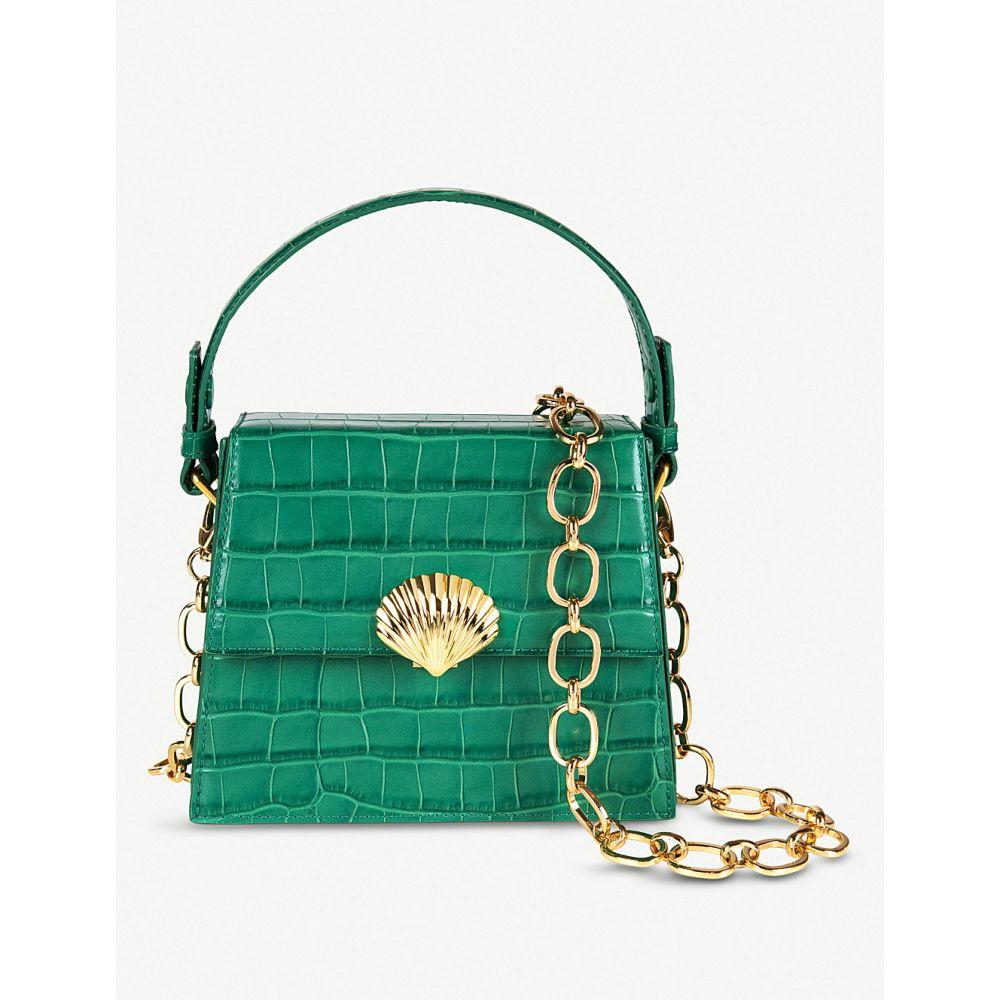 リキソ レディース handle rixo レディース バッグ ハンドバッグ【jemima leather top top handle bag】Emerald croc, Tokyo33:118148b6 --- sunward.msk.ru