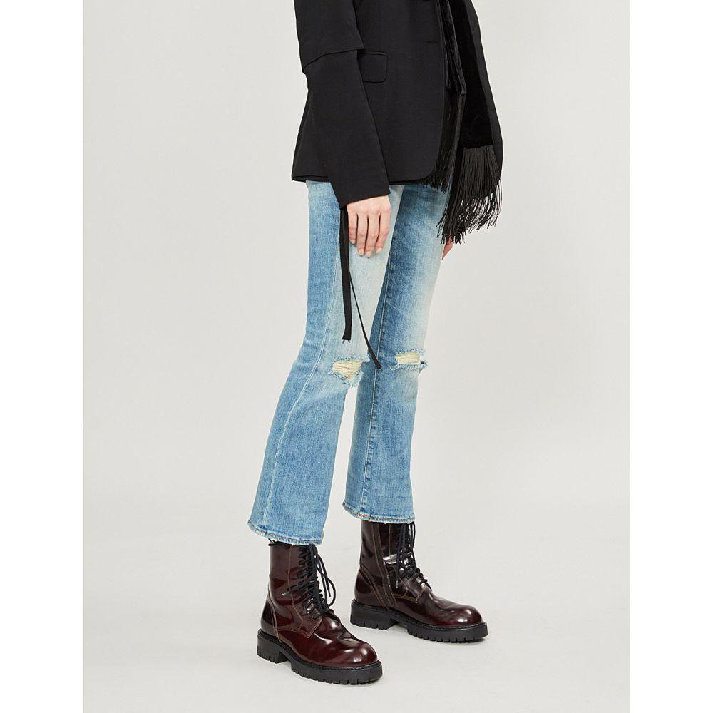 アール サーティーン r13 レディース ボトムス・パンツ ジーンズ・デニム【ripped flared mid-rise jeans】Drew