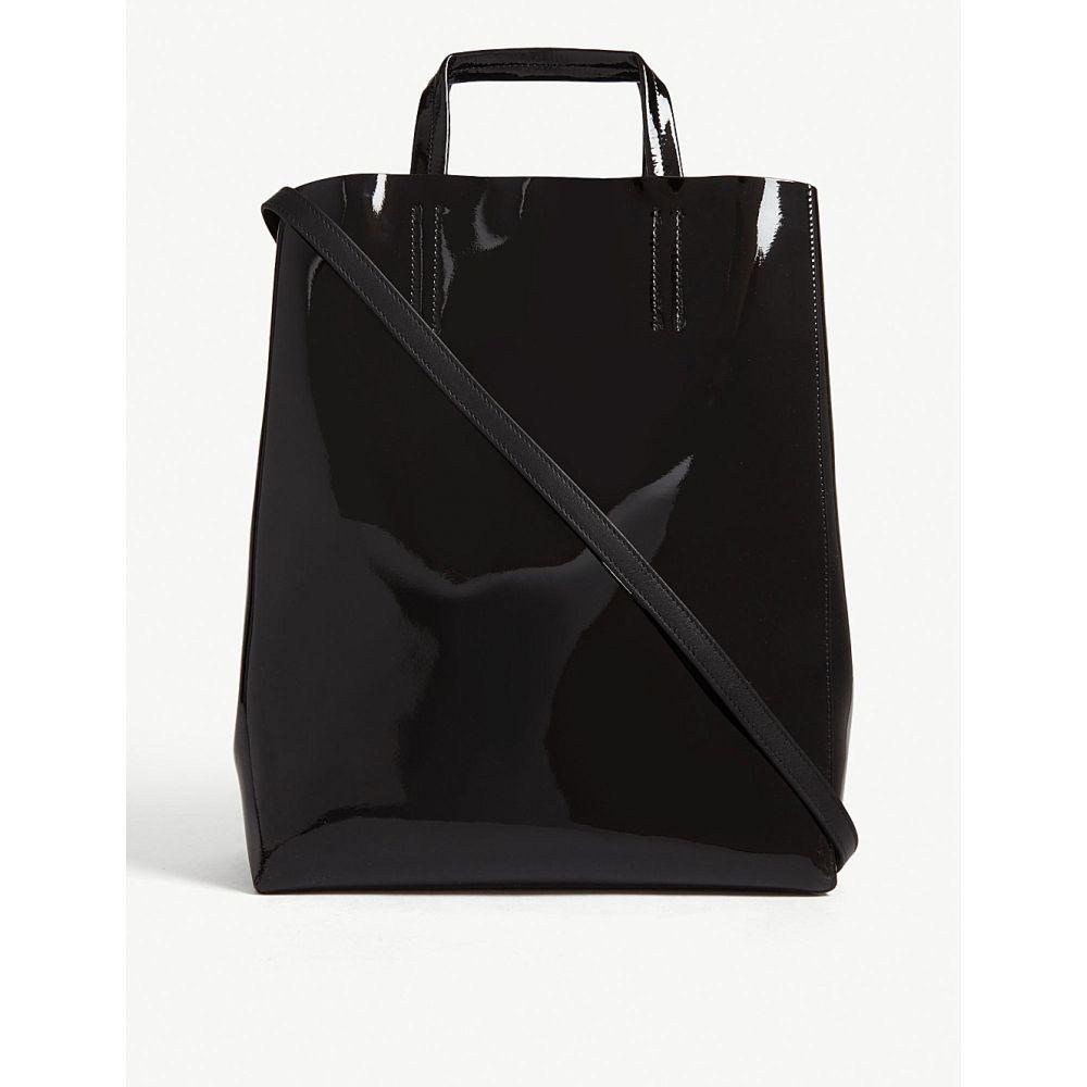 アクネ ストゥディオズ acne studios レディース バッグ トートバッグ【mini baker patent leather tote】Black