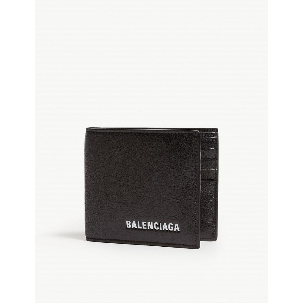 バレンシアガ balenciaga メンズ 財布【explorer leather wallet-on-chain】Black