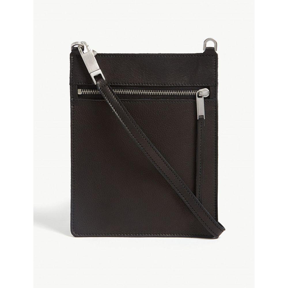 リック オウエンス rick owens レディース バッグ ショルダーバッグ【grained leather small pouch bag】Black