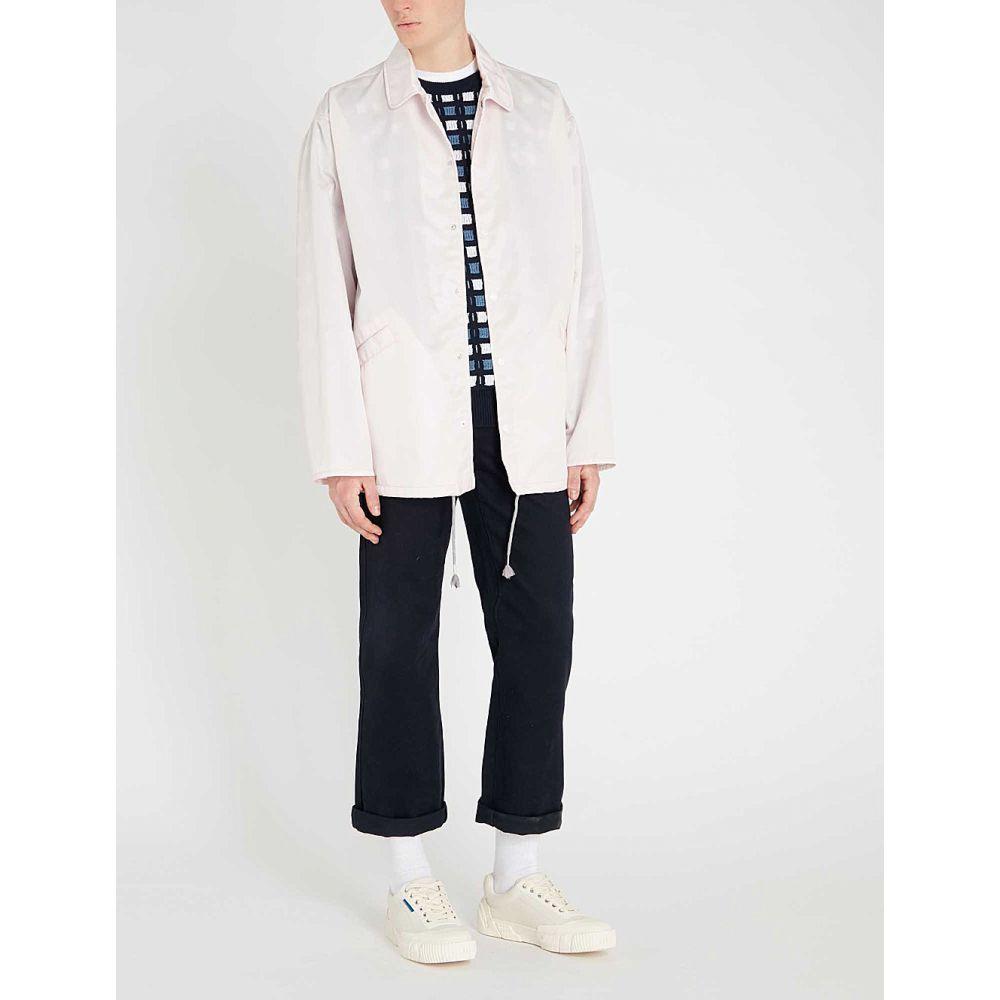 マルニ marni メンズ アウター レインコート【box-fit rain coat】Light pink