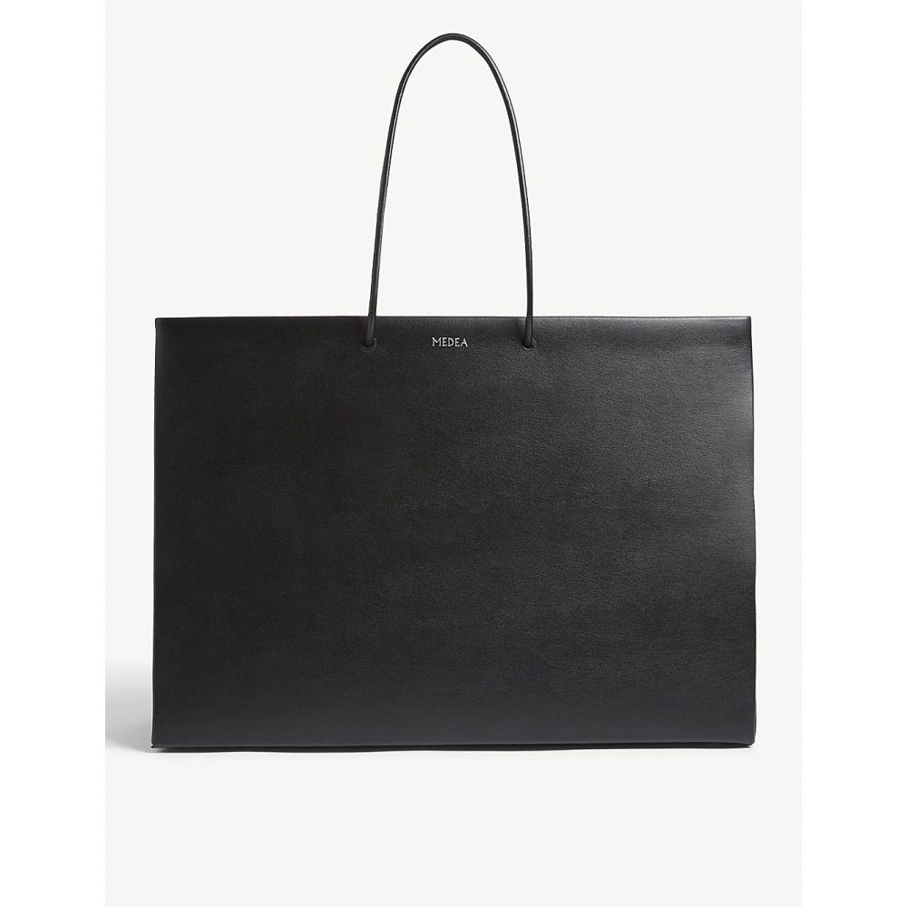 メデア medea レディース バッグ トートバッグ【large tote bag】Black