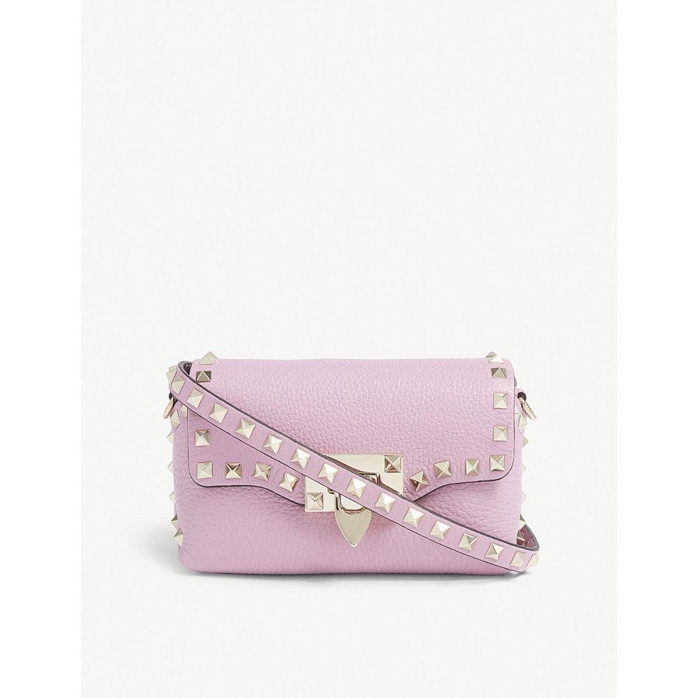 ヴァレンティノ valentino レディース バッグ ショルダーバッグ【small rockstud cross-body bag】Pink