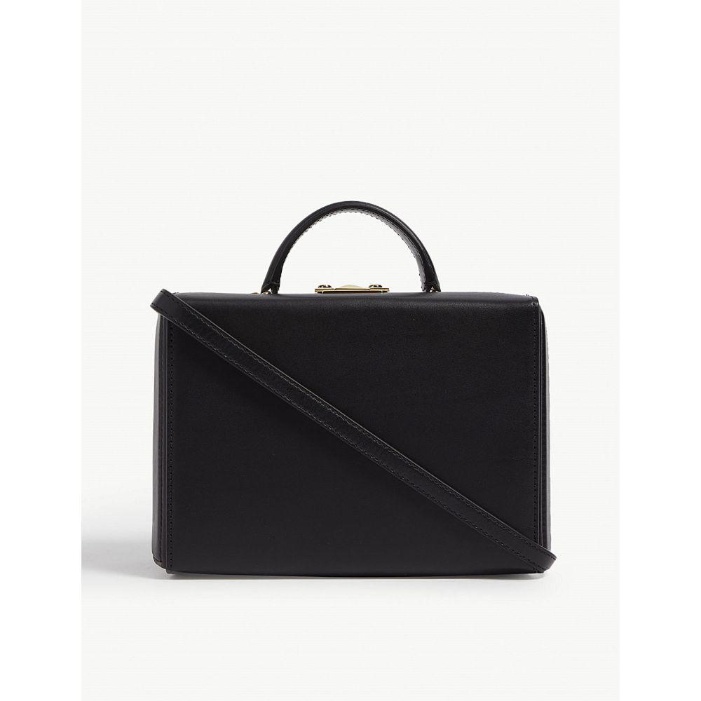 マーククロス mark cross レディース バッグ ハンドバッグ bag】Black【grace マーククロス box bag mark】Black, 阿仁町:d87d66b2 --- sunward.msk.ru