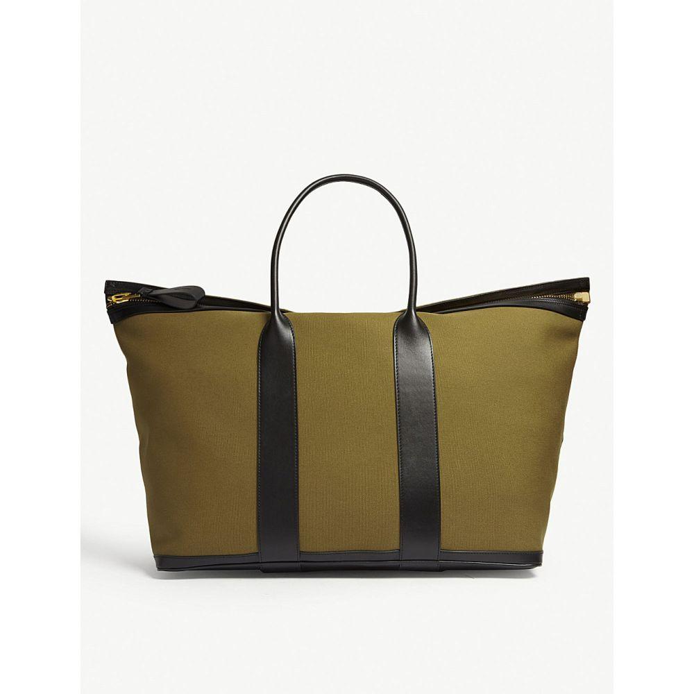 トム フォード tom ford メンズ バッグ ボストンバッグ・ダッフルバッグ【canvas buckley weekend bag】Olive