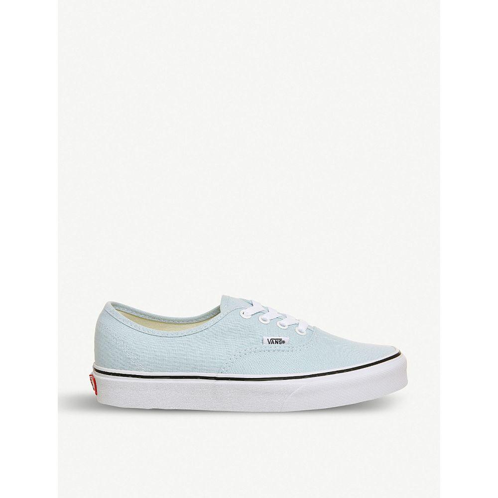 ヴァンズ vans レディース シューズ・靴 スニーカー【authentic canvas trainers】Baby blue true white