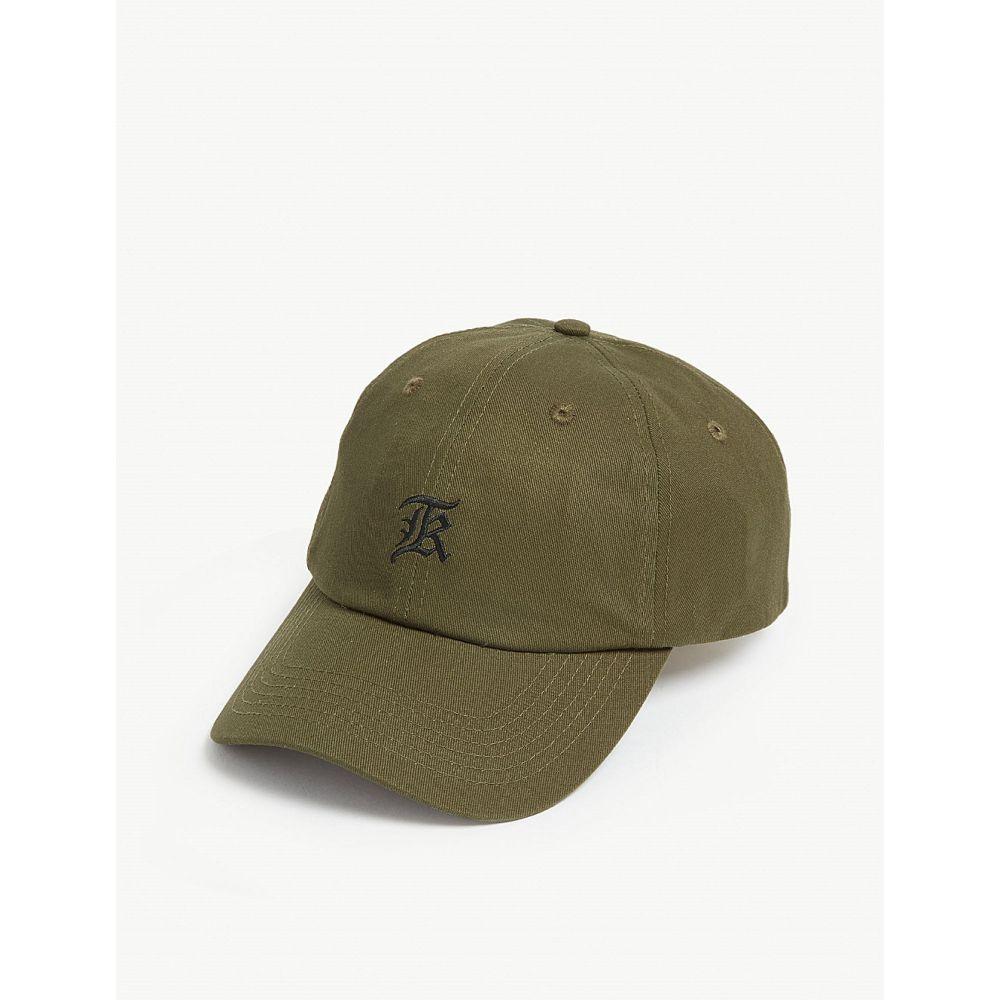 クーパース the kooples メンズ 帽子 キャップ【embroidered logo cotton baseball cap】Kak01
