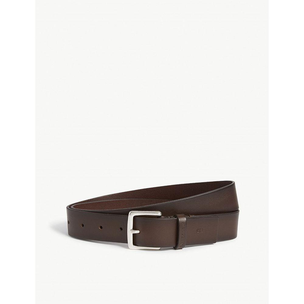 カルバンクライン calvin klein メンズ ベルト【classic leather belt】Brown