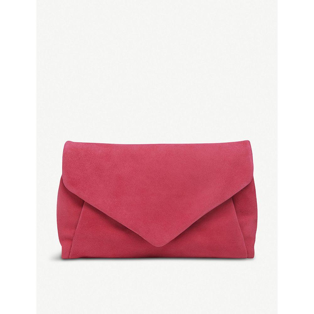 エルケーベネット bag】Pin-pink suede lk bennett lk レディース バッグ クラッチバッグ【lorna suede envelope clutch bag】Pin-pink, 大きいサイズ 靴レディースkando:da7d688e --- sunward.msk.ru