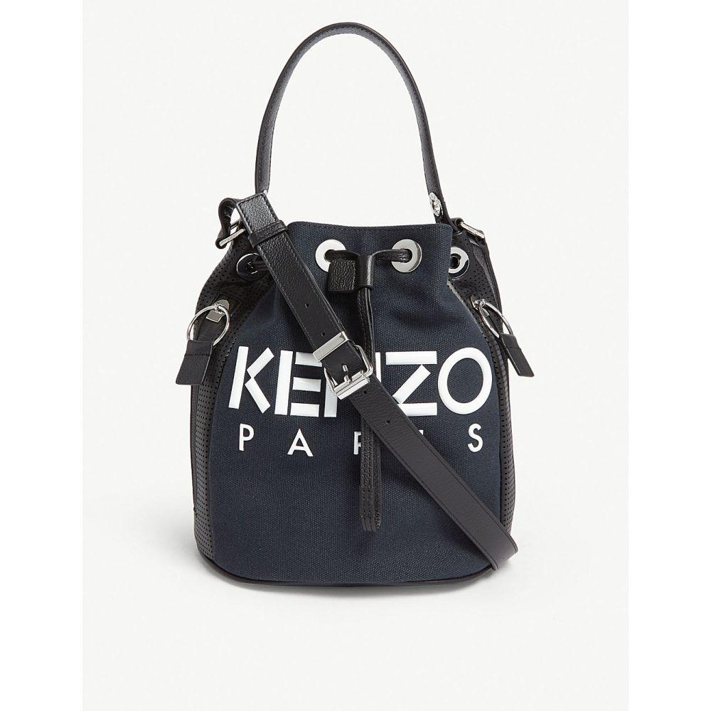ケンゾー kenzo レディース バッグ【bucket bag】Black