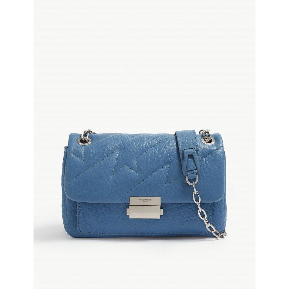 ザディグ エ ヴォルテール zadig&voltaire レディース バッグ ショルダーバッグ【ziggy shoulder bag】Bleu marguerite