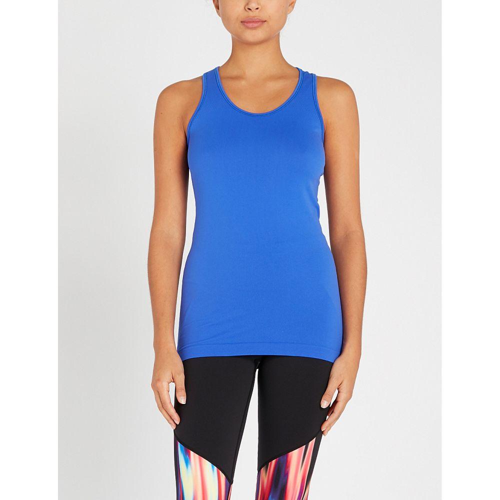 スウェッティベティ sweaty betty レディース トップス タンクトップ【athlete seamless stretch-jersey top】Ultramarine