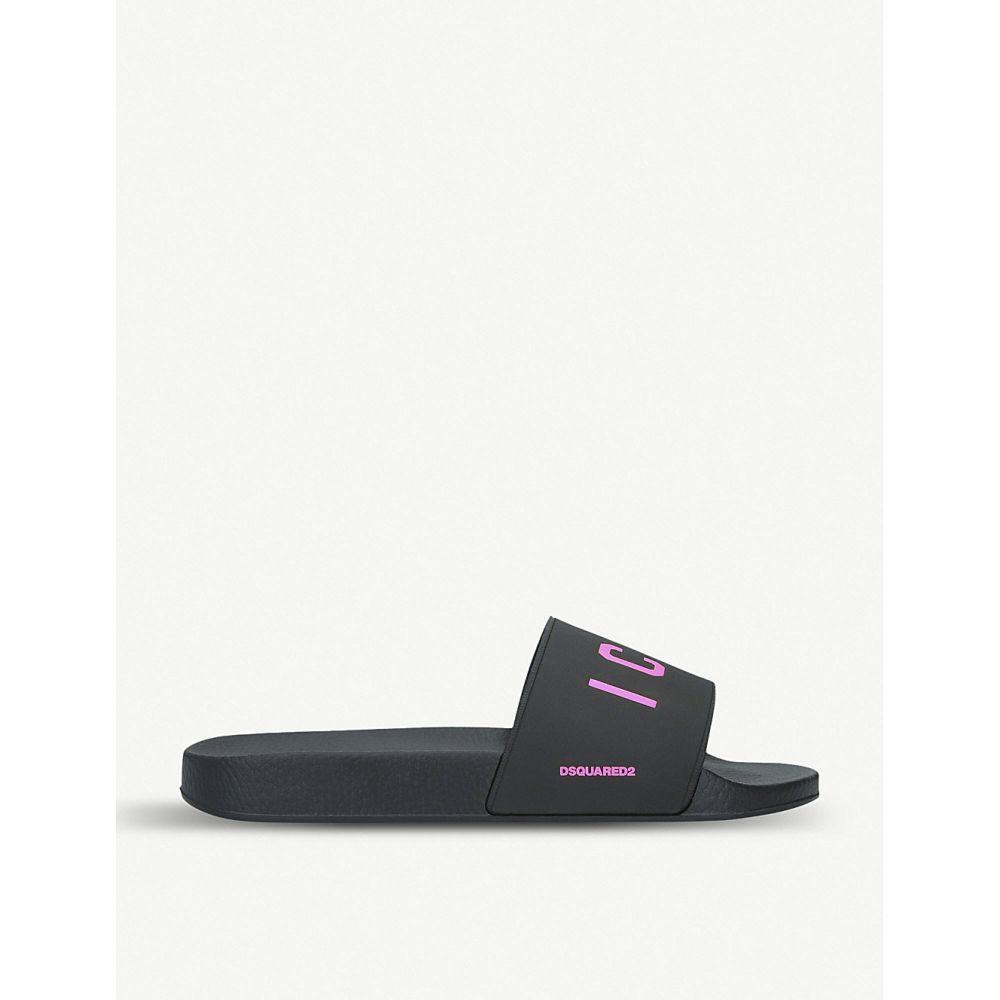 ディースクエアード dsquared2 メンズ シューズ・靴 サンダル【icon pool slides】Black