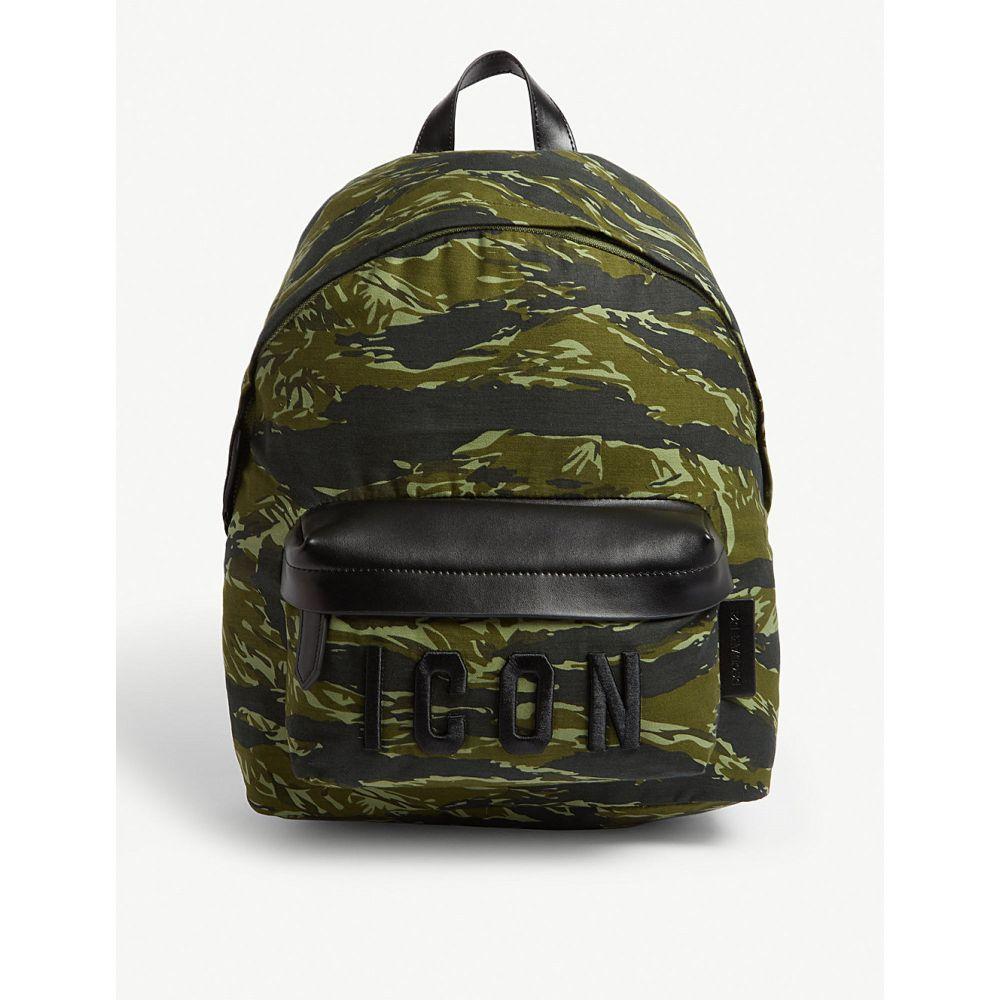 ディースクエアード dsquared2 メンズ バッグ バックパック・リュック【icon backpack】Green