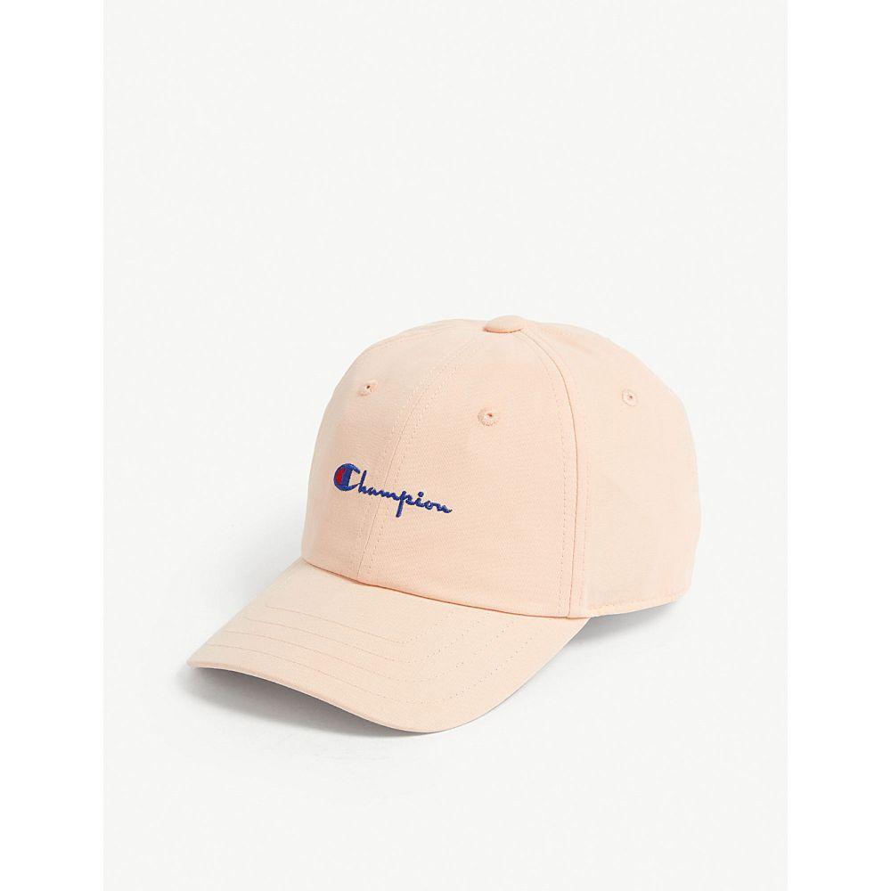 チャンピオン champion メンズ 帽子 キャップ【cotton cap】Light pink