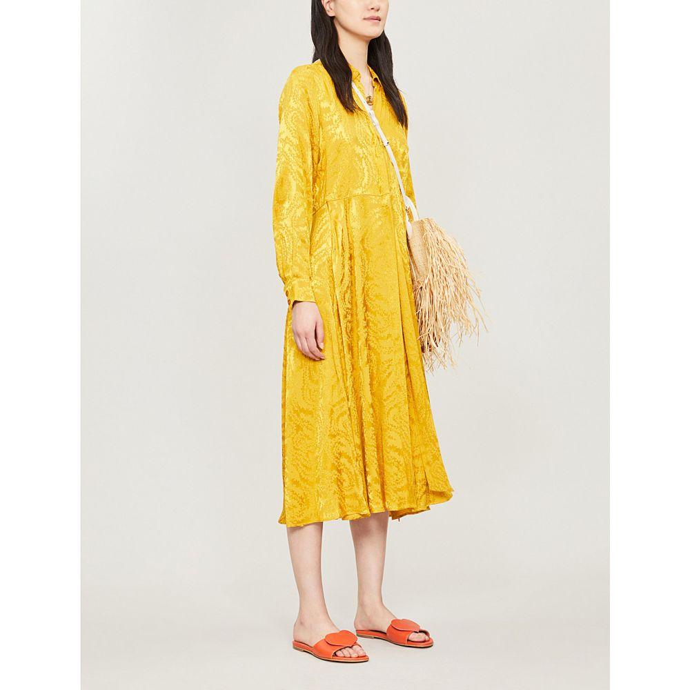 スティーヌ ゴヤ stine goya レディース ワンピース・ドレス ワンピース【baily abstract-pattern waist-tie jacquard dress】Swirl