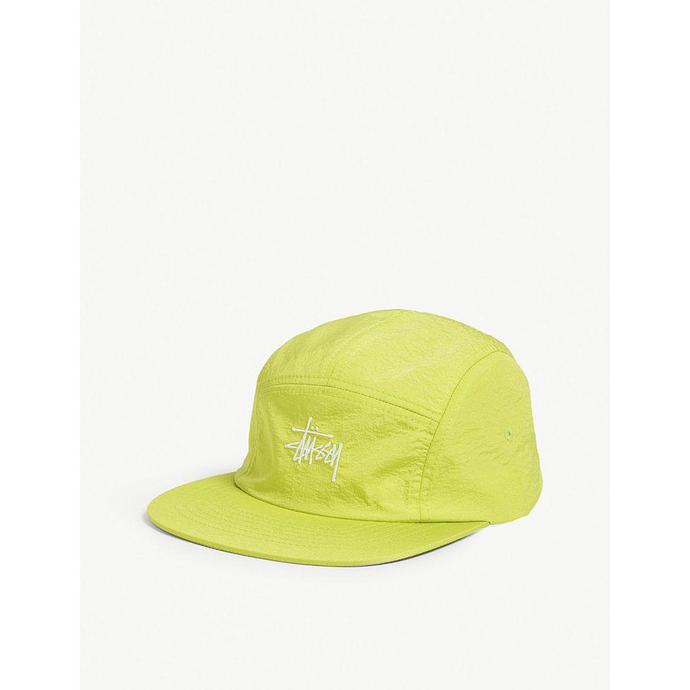 ステューシー stussy メンズ 帽子 キャップ【logo baseball cap】Neon yellow