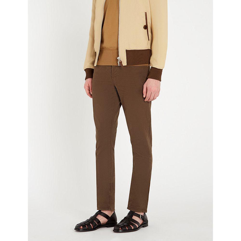 トム フォード tom ford メンズ ボトムス・パンツ ジーンズ・デニム【slim-fit straight jeans】Army