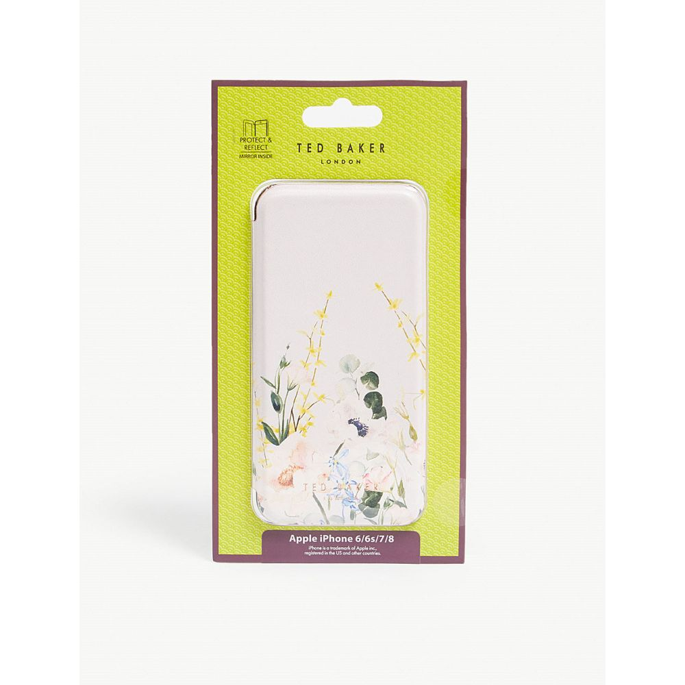 テッドベーカー ted baker レディース iPhone (8)ケース【cabe iphone 6/6s/7/8 folding case】Nude-pink