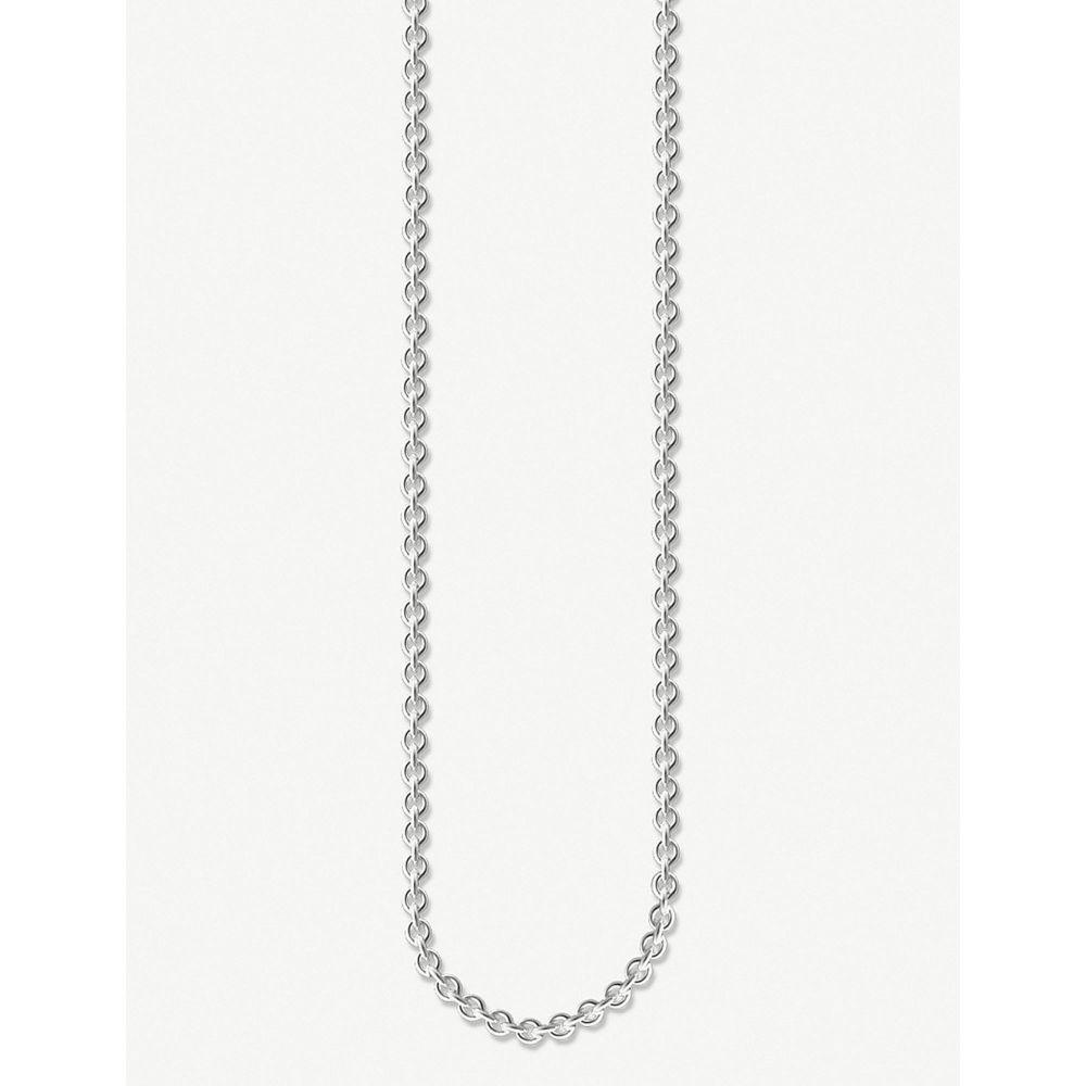 トーマスサボ thomas sabo レディース ジュエリー・アクセサリー ネックレス【anchor chain sterling silver necklace】Silver