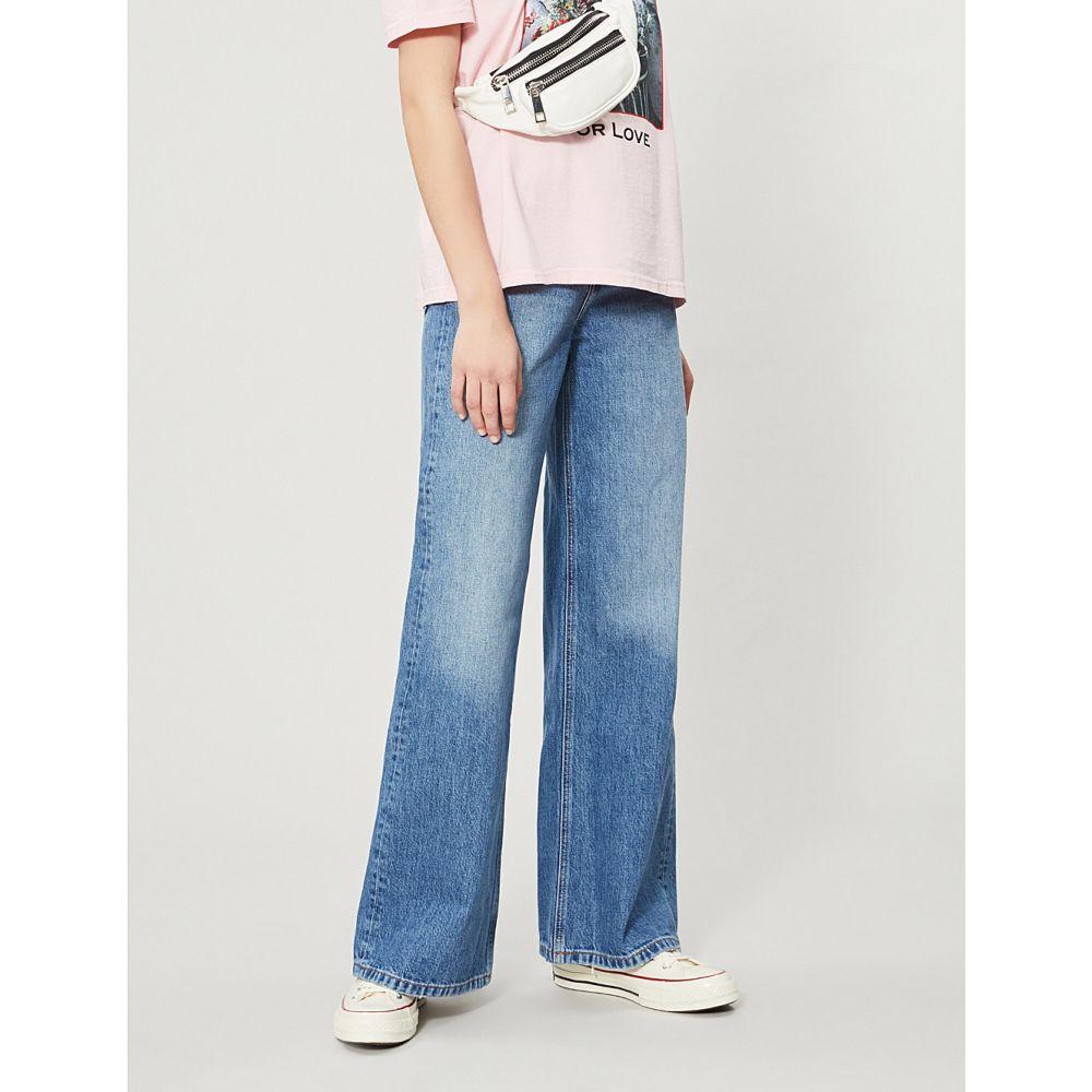 トップショップ topshop レディース jeans】Mid ボトムス トップショップ stone・パンツ ジーンズ・デニム【high-rise wide-leg jeans】Mid stone, 越後新潟 ギフトショップハクシン:040a847f --- sunward.msk.ru